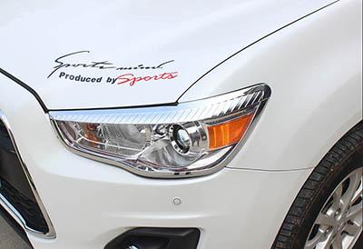 Хром передней головной оптики Mitsubishi ASX