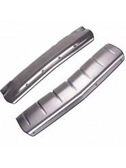 Накладки из нержавеющей стали переднего и заднего бампера Cadillac SRX / Кадиллак СРХ 2013-