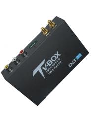 Автомобильный цифровой ТВ-тюнер DVB-T2 2 антенны
