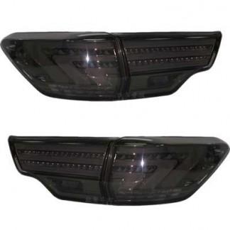 Задние фонари светодиодные дымчатые Toyota Highlander / Toyota Хайлендер 2014-2015