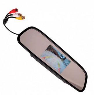 Универсальное зеркало заднего вида с монитором 5 дюймов