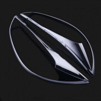 Хром накладка передней оптики Мазда СХ-5 / Mazda CX-5 2011-2016