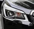 Хромированные накладки передней оптики Субару Форестер / Subaru Forester S5 2018-2019