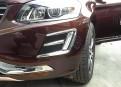 Хром накладка переднего бампера Вольво ХС60 / Volvo XC60 2014-2016
