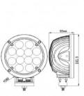 Светодиодная фара 60W