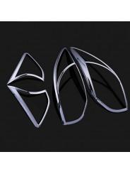 Хром накладка задних фонарей Мазда СХ-5 / Mazda CX-5 2011-2016