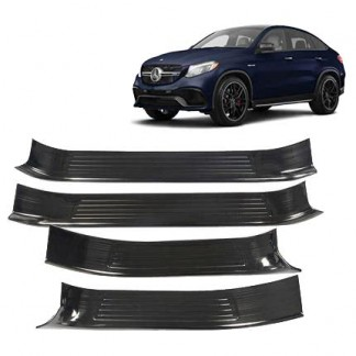 Накладки порогов Мерседес ГЛЕ / Mercedes-Benz GLE W166 2015-2018