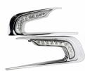 Дневные ходовые огни (ДХО) Peugeot 2008 / Пежо 2008 2013-