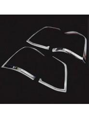Хром накладка задних фонарей Тойота Ленд Крузер 200 / Toyota Land Cruiser 200 2012-2015