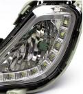 Противотуманные фары с ходовыми огнями для Hyundai Solaris / Хендай Солярис 2011-..