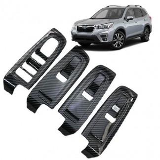Накладки дверей для Subaru Forester / Субару Форестер 2018-2019