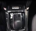 Накладка карбон Субару Форестер / Subaru Forester 2013-2018 на центральную консоль