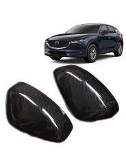 Накладки зеркал карбон Мазда СХ-5 / Mazda CX-5 2017-2019