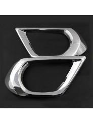 Хром накладки противотуманных фар Subaru Forester SJ / Субару Форестер 2013-2015