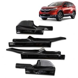 Накладки на внутренние пороги Хонда ЦРВ / Honda CR-V 5 2017-2019
