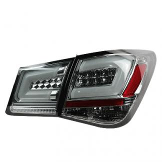 Задние фонари светодиодные дымчатые Chevrolet Cruze / Шевроле Круз 2009-2013