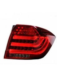 Задние фонари светодиодные BMW Style для Toyota Highlander / Тойота Хайлендер 2012-2014