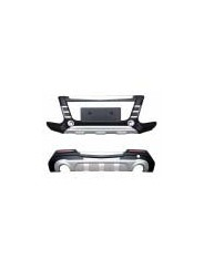 Накладки переднего и заднего бампера Ford Kuga / Форд Куга 2013