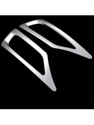 Хром накладка заднего бампера Тойота Рав4 / Toyota RAV4 XA40 2013-2015