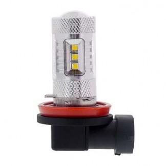 Светодиодная лампа H8 80W 16 led
