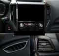 Накладки под карбон на воздуховоды Субару Форестер / Subaru Forester 2018-2019