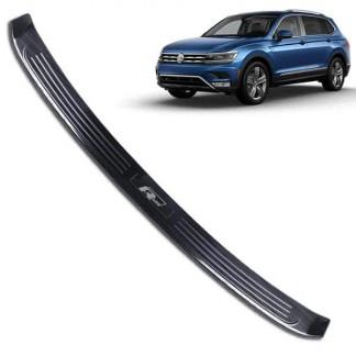 """Накладка заднего бампера """"Черный титан"""" Subaru XV / Субару ХВ 2017-2018"""