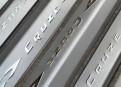 Комплект накладок на пороги для Chevrolet Cruze / Шевроле Круз 2009-2013