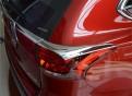 Хром накладка на задние фонари Мицубиси Аутлендер / Mitsubishi Outlander 2016-2017