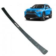 Накладка бампера карбон Toyota RAV4 / Тойота РАВ4 2019-2020