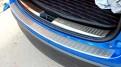 Накладка на бампер Mazda CX-5 / Мазда СХ-5 2011-2014