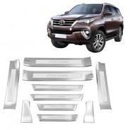 Накладки порогов Toyota Fortuner / Тойота Фортунер 2015-2019