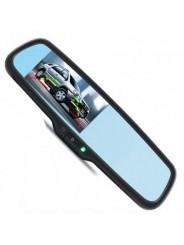 """Зеркало заднего вида с монитором 4.3"""" и автозатемнением для Subaru XV / Субару Икс Ви"""
