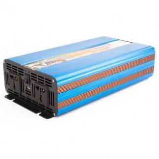 Автомобильный преобразователь напряжения с чистой синусоидой ( инвертор) 12-220 Вольт 2000 Ватт