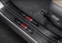 Тюнинг накладки на пороги Тойота Рав 4 / Toyota Rav 4 XA50 2019-2021 Черный титан