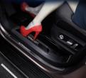 """Накладки на пороги """"Черный титан"""" Volkswagen Teramont / Фольксваген Терамонт 2017-2018"""