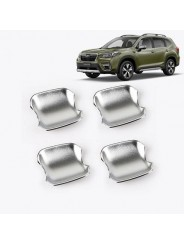Хром накладки ручек дверей (чашки) Субару Форестер / Subaru Forester S5 2018-2019