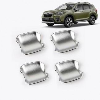 Хромированные накладки ручек дверей Субару Форестер / Subaru Forester S5 2018-2019