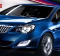 Противотуманные фары с дневными ходовыми огнями Opel Astra / Опель Астра 2009-2013