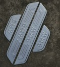 Комплект накладок на пороги для BMW X3 / БМВ Икс 3 2011-2013