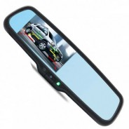 """Зеркало заднего вида с монитором 4.3"""" и автозатемнением для Ауди А4 Олроад / Audi A4 Allroad 2009-2015"""
