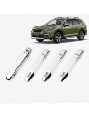 Накладки ручек дверей Субару Форестер / Subaru Forester S5 2018-2019