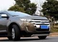 Накладки из нержавеющей стали переднего и заднего бампера Ford Edge / Форд Эдж 2013-
