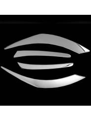 Хром комплект задних фонарей Мазда СХ-5 / Mazda CX-5 2011-2016