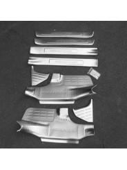 Защитные накладки на пороги Тойота Хайлендер / Toyota Highlander XU50 2014-2017