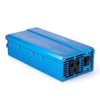 Автомобильный преобразователь напряжения с чистой синусоидой ( инвертор) 12-220 Вольт 300 Ватт