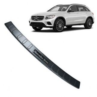Накладка бампера Мерседес ГЛК / Mercedes-Benz GLC X253 2015-2019