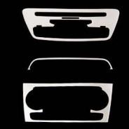 Накладка на консоль из нержавейки №2 Audi Q3 / Ауди Ку 3 2011-