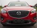Хром накладка капота Мазда СХ-5 / Mazda CX-5 2015-2016