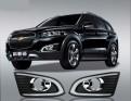 Дневные ходовые огни для Chevrolet Captiva / Шевроле Каптива 2014-2016 рестайлинг