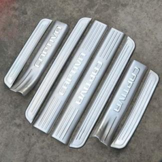 Комплект накладок на пороги для Chevrolet Captiva / Шевроле Каптива 2012-